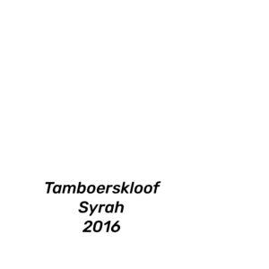 Kleinood Tamboerskloof Syrah